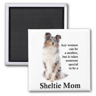 Imã Ímã azul da mamã de Merle Sheltie