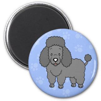 Imã Ímã bonito da caniche do cão dos desenhos animados