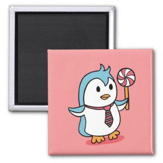 Imã Ímã bonito dos desenhos animados do pinguim