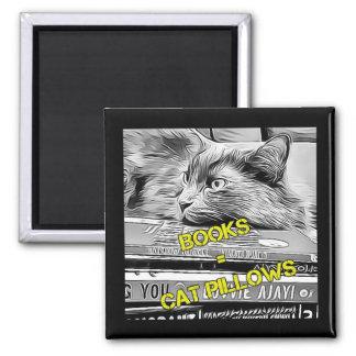 Imã Ímã bookish do gato