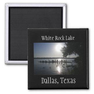 Imã Ímã branco do lago rock de Dallas Texas