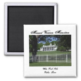 Imã Ímã branco do lago rock de Mount Vernon