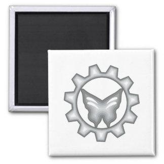 Imã Ímã branco do logotipo do projeto