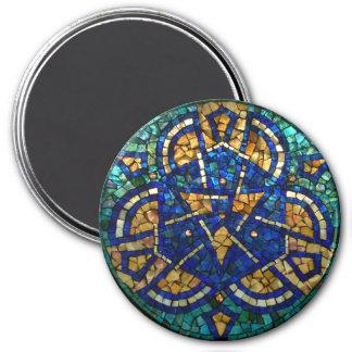 """Imã Ímã """"caleidoscópio """" do mosaico do vitral"""