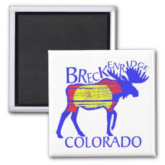 Imã Ímã colorido dos alces de Breckenridge Colorado