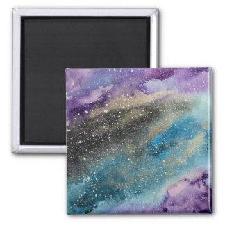 Imã Ímã da aguarela do espaço do impressão da galáxia