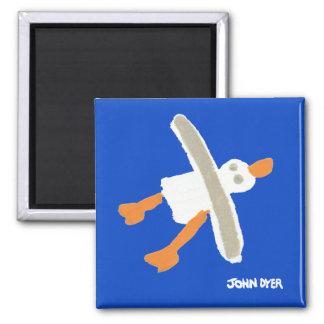 Imã Ímã da arte do refrigerador da gaivota do