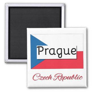 Imã Ímã da bandeira da república checa de Praga