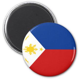 Imã Ímã da bandeira de Filipinas Fisheye