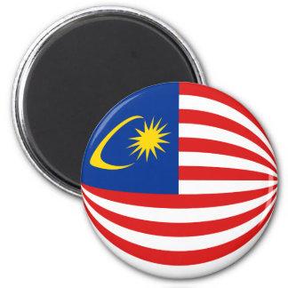 Imã Ímã da bandeira de Malaysia Fisheye