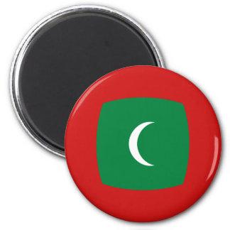 Imã Ímã da bandeira de Maldives Fisheye