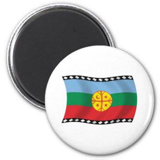 Imã Ímã da bandeira de Mapuches