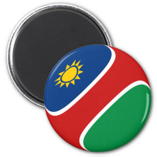 Imã Ímã da bandeira de Namíbia Fisheye