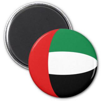 Imã Ímã da bandeira dos UAE Fisheye