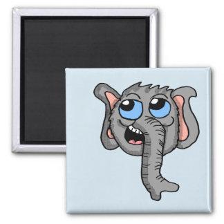 Imã Ímã da cabeça do elefante dos desenhos animados