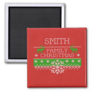 Imã Ímã da celebração do Natal da família de Smith