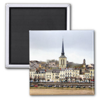 Imã Ímã da cena do banco de rio de Saumur