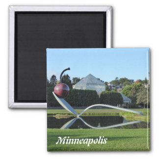 Imã Ímã da cereja de Minneapolis e da foto de
