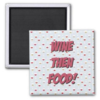 Imã Ímã da comida do vinho então