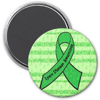 Imã Ímã da consciência da doença de Lyme do verde