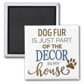 Imã ímã da decoração do amante da pele do cão