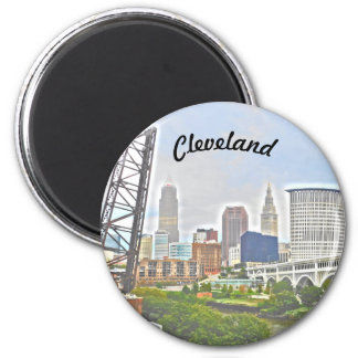 Imã Ímã da essência de Cleveland (opinião de banco de