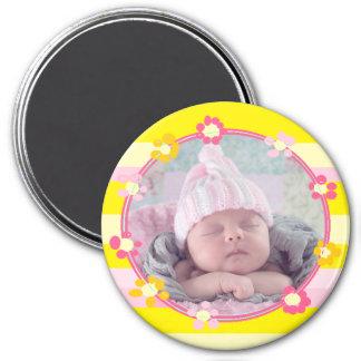 Imã Ímã da foto do bebê, personalizado com seu bebê