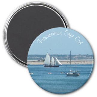 Imã Ímã da foto do oceano do veleiro de Provincetown