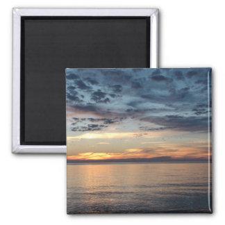 Imã Ímã da foto do por do sol da praia de Cape Cod