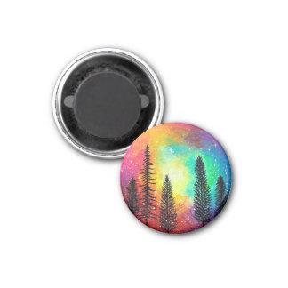 Imã Ímã da galáxia do arco-íris - ímã da floresta do