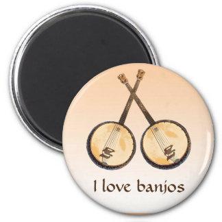 Imã Ímã da laranja do instrumento de música do banjo