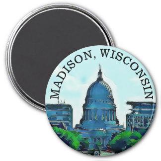Imã Ímã da lembrança de Madison, Wisconsin