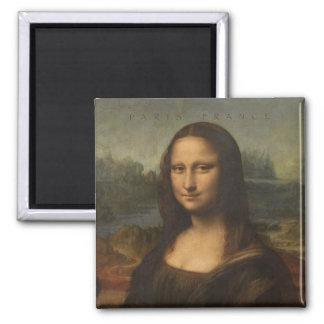 Imã Ímã da lembrança do viagem de Paris France Mona
