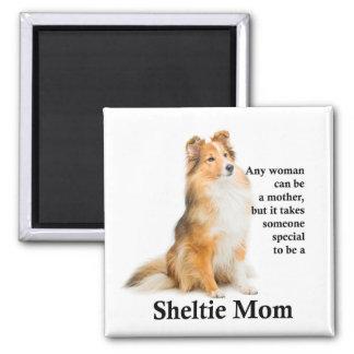 Imã Ímã da mamã de Sheltie