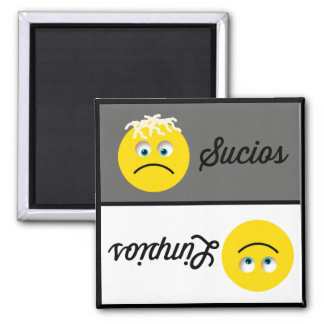 Imã Ímã da máquina de lavar louça de Emoji Limpios