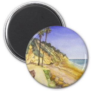Imã Ímã da praia de Hendry (Santa Barbara)