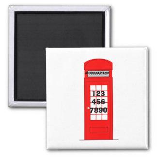 Imã Ímã da promoção do negócio da caixa de telefone de