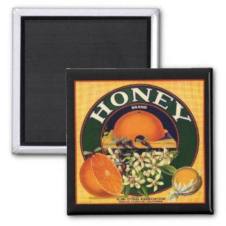 Imã Ímã da propaganda da empresa do mel do vintage
