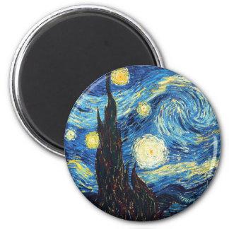 Imã Ímã das belas artes da noite estrelado de Vincent