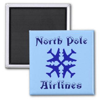 Imã Ímã das linhas aéreas do Pólo Norte