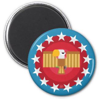 Imã Ímã de Eagle da liberdade (azul) -