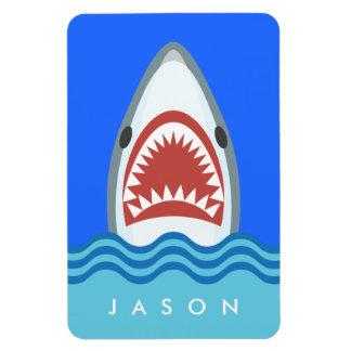 Ímã Imã de geladeira personalizada do tubarão ataque
