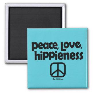 Imã Ímã de Hippieness do amor da paz