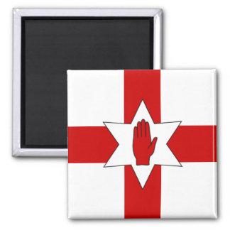 Imã Ímã de Irlanda do Norte - estrela & mão na cruz