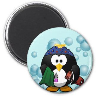 Imã Ímã de lavagem dos pratos do pinguim