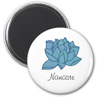 Imã Ímã de Lotus azul Namaste