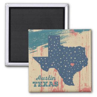 Imã Ímã de madeira afligido - Austin Texas