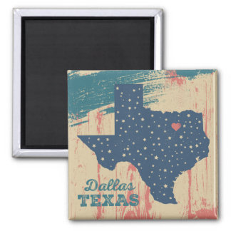 Imã Ímã de madeira afligido - Dallas Texas