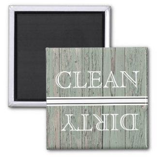 Imã Ímã de madeira da máquina de lavar louça do estilo