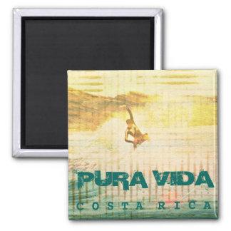 Imã Ímã de Pura Vida Costa Rica do surf